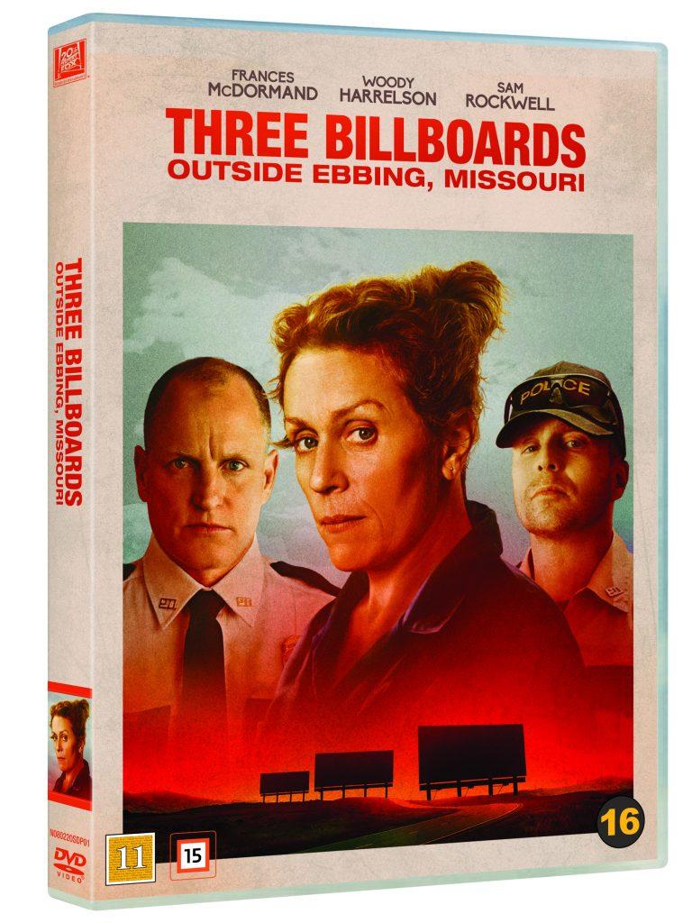 three billboards DVD-ps