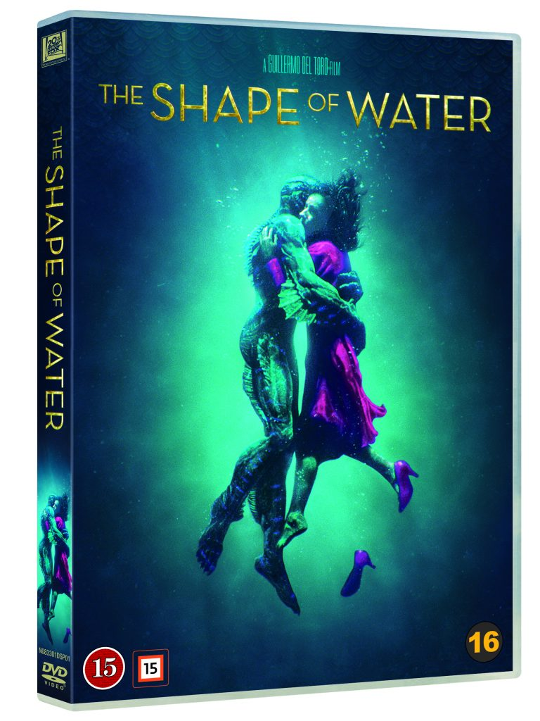 Shape of water DVD-ps