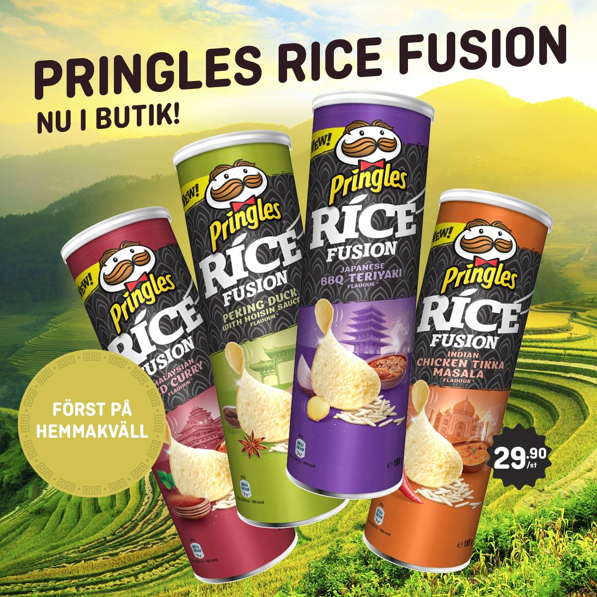 Pringles Rice Fusion-chips