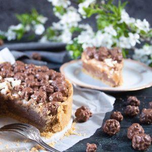 Recept: Jordnötspaj med Chokladpopcorn-2