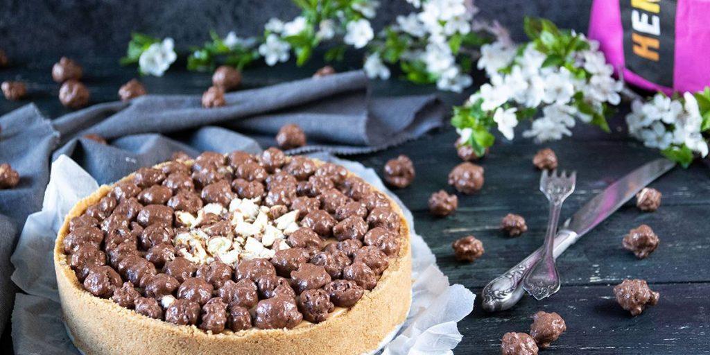 Recept: Jordnötspaj med Chokladpopcorn-3