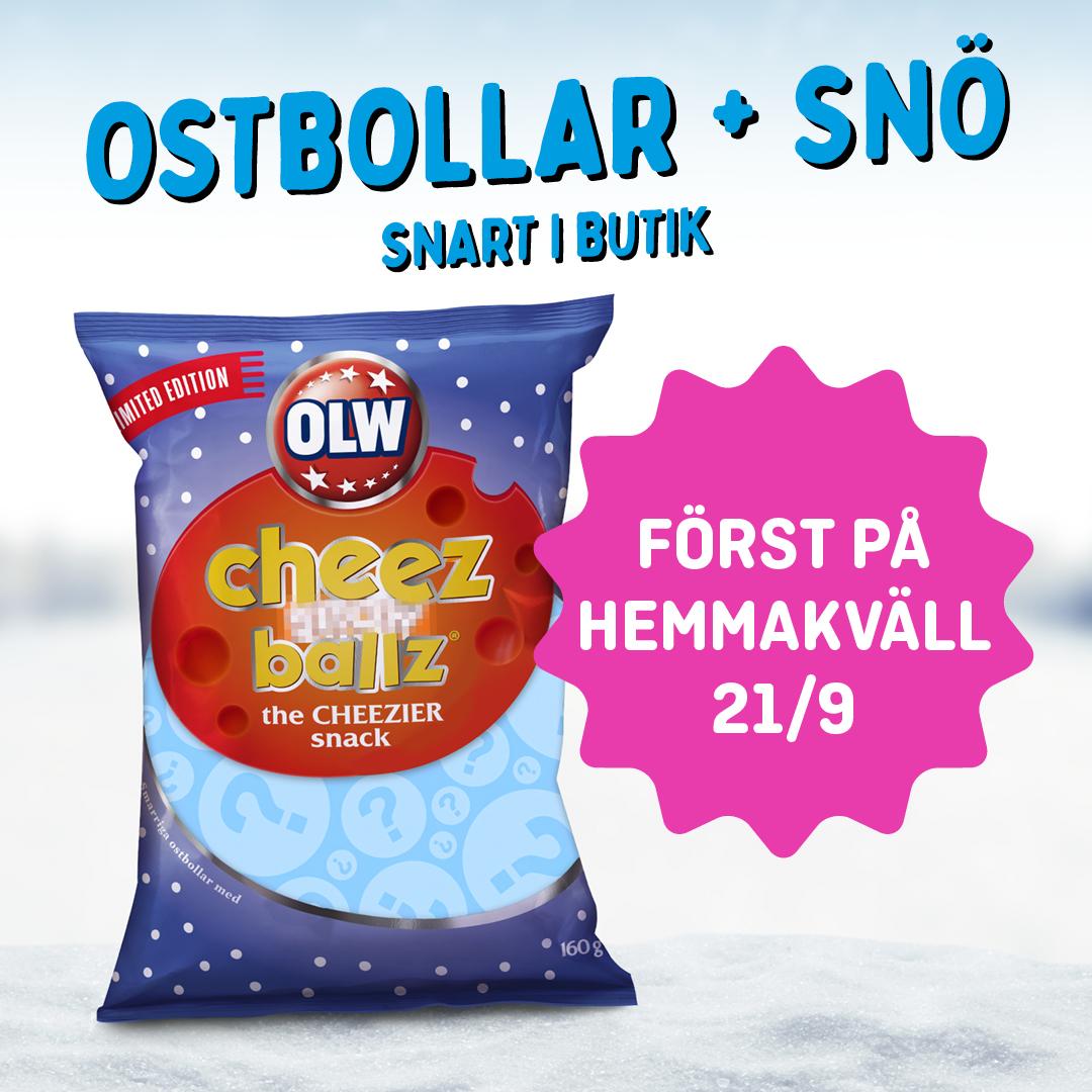 Snöig nyhet från OLW!