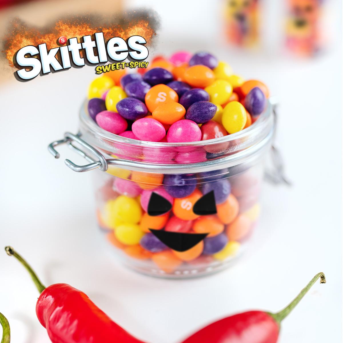 Skittles Sweet & Spicy: nu i lösvikten!