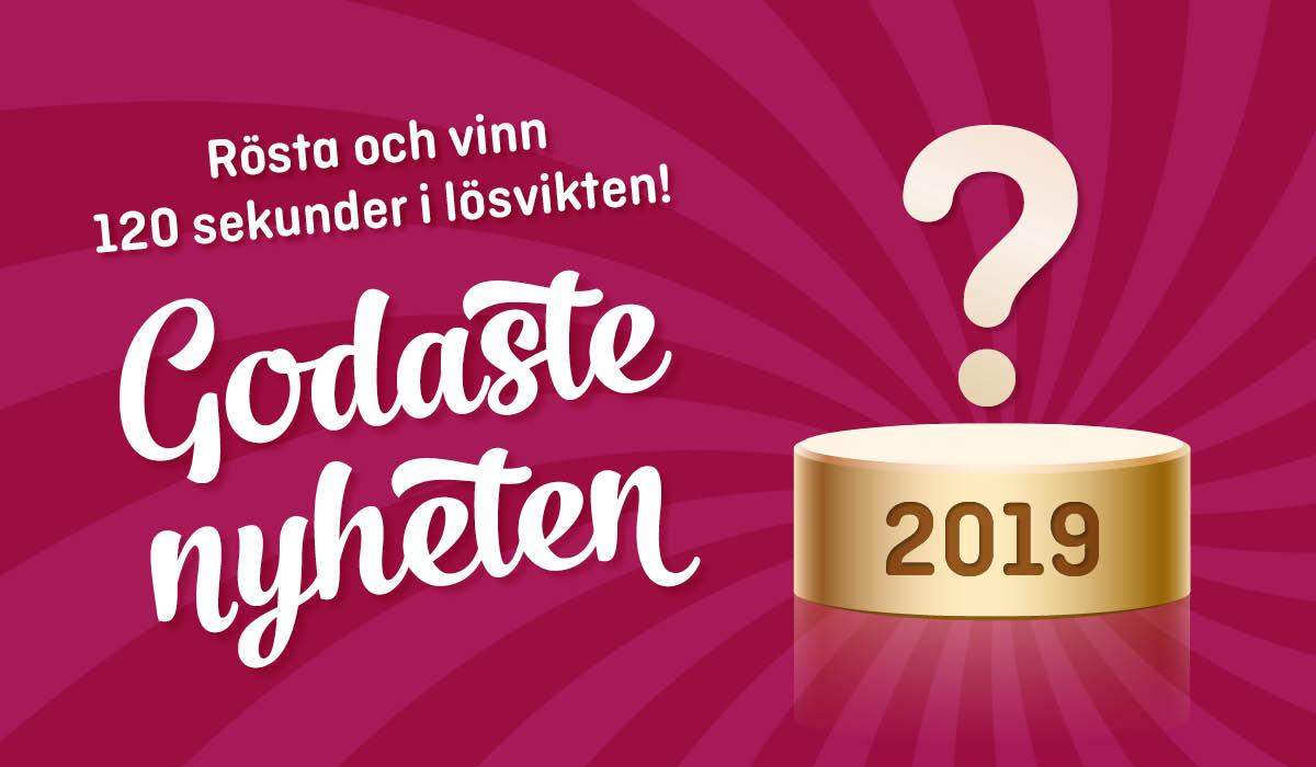 Hjälp till att kora årets nyhet i lösvikten och vinn ett magiskt pris!