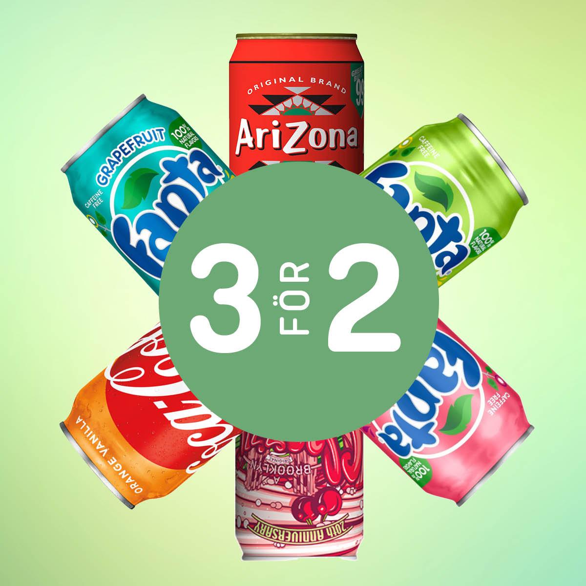 Välj valfria Taste of the World dryck. Köp 3 betala för 2.