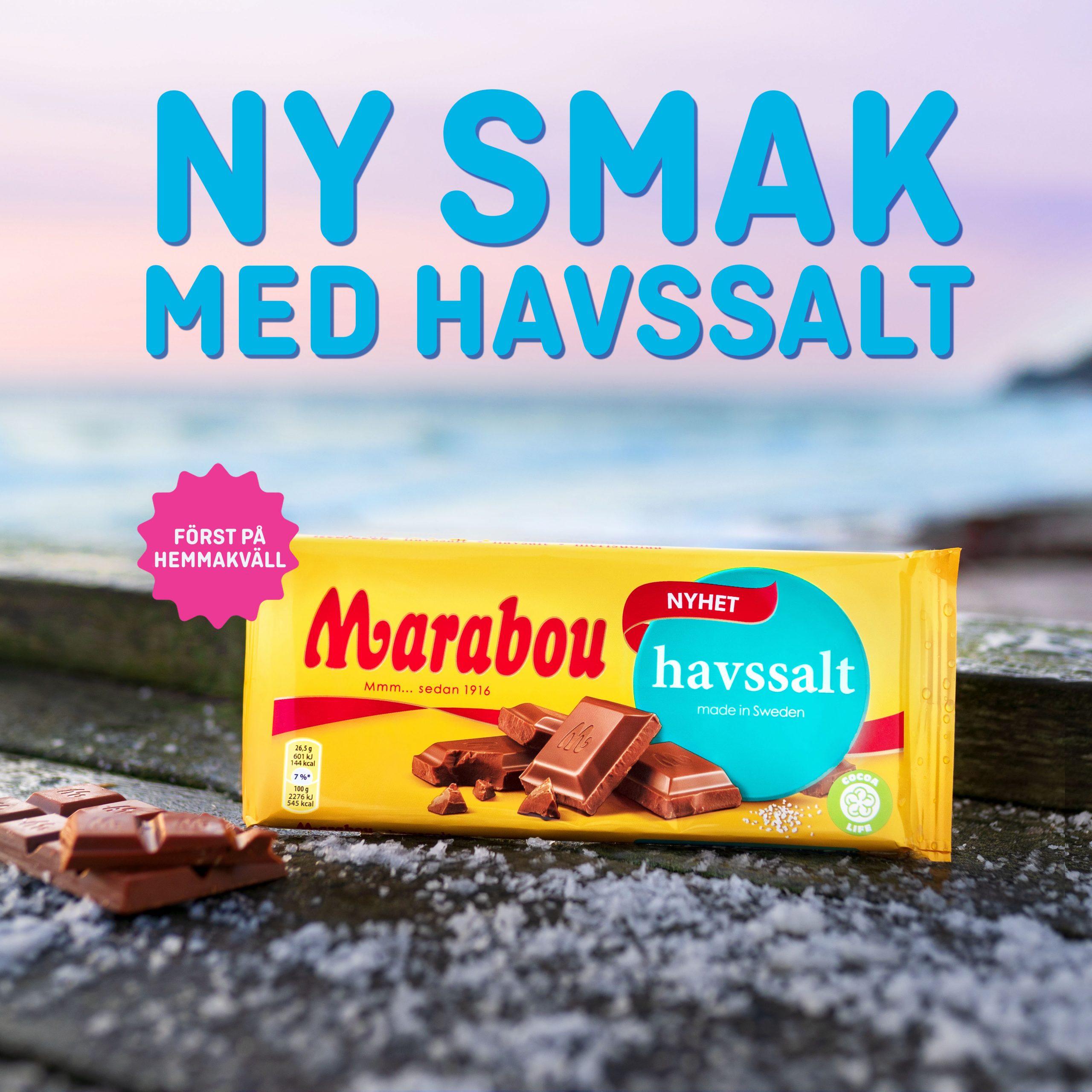 Först på Hemmakväll - Marabou Havssalt