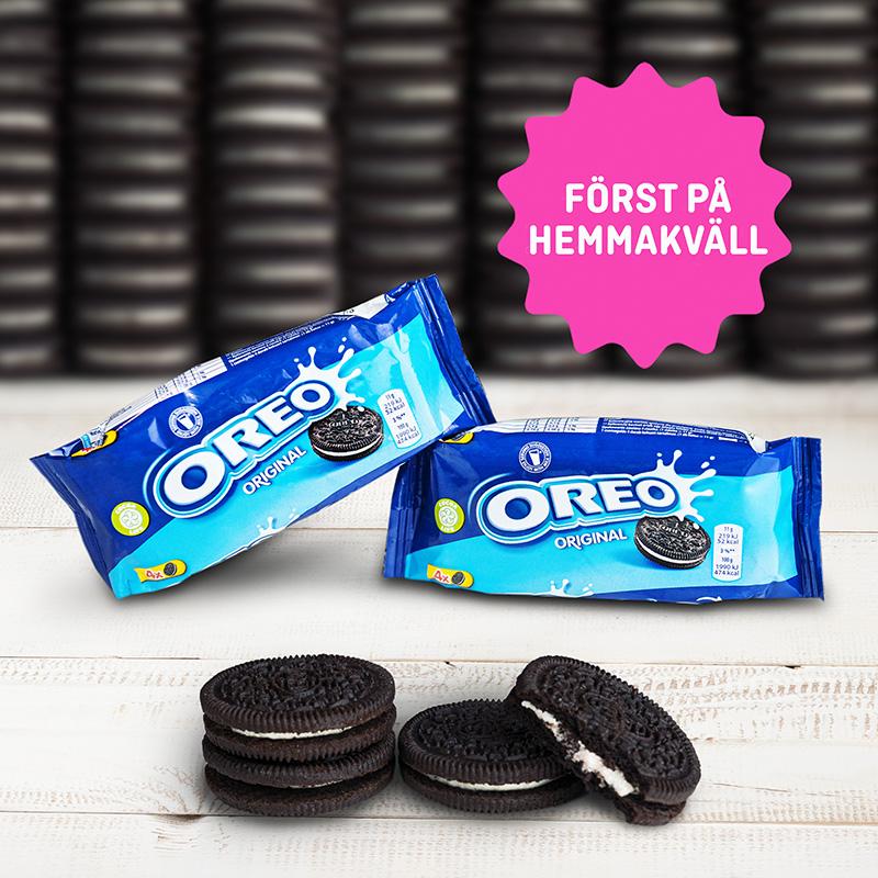 Först på Hemmakväll i lösvikten - Oreo 4-pack