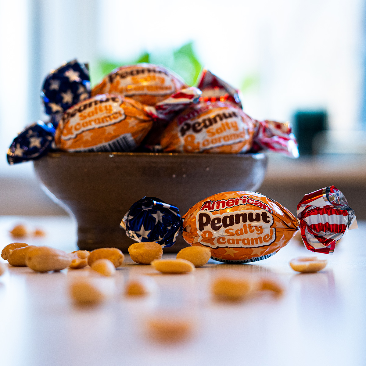 American Peanut & Salty Caramel i lösvikt 30/4