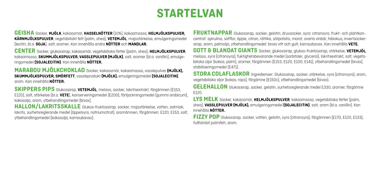 STARTELVAN
