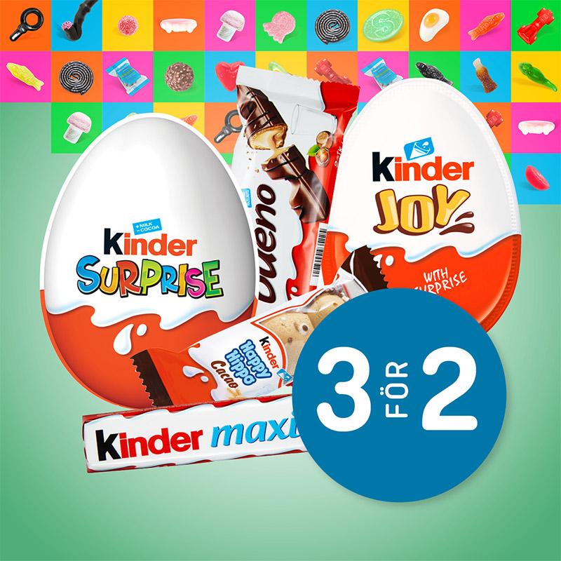 Välj fritt: Kider-produkter 3 för 2