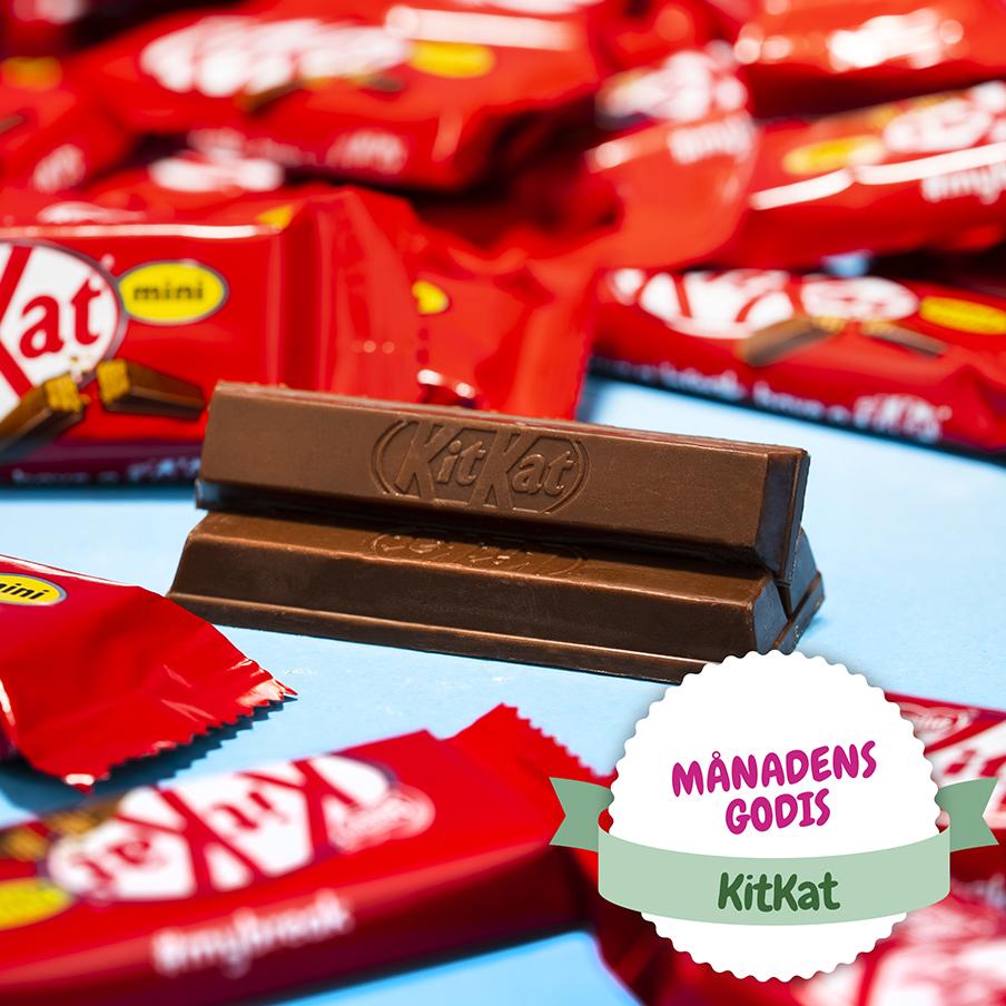 Lär dig allt om KitKat!