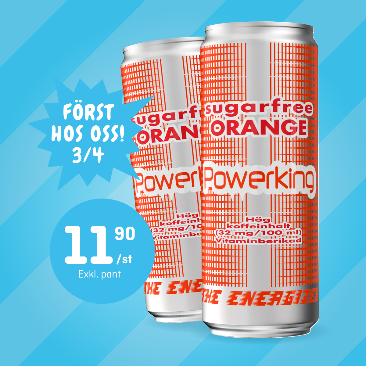 PowerKing Orange 3/4