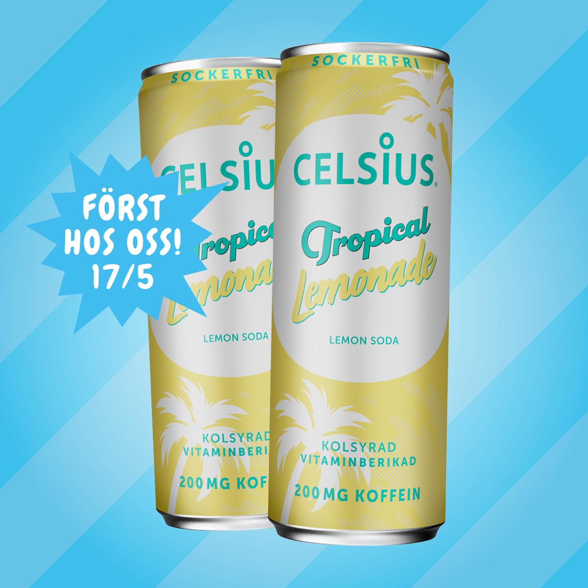 Celsius Tropical Lemonade 17/5
