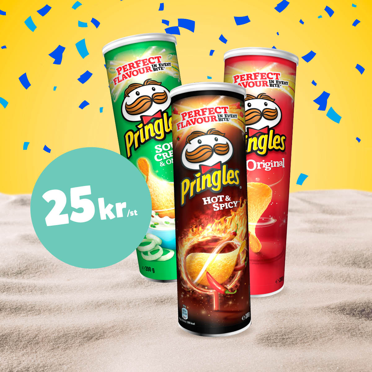 25:- Pringles
